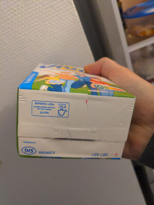 Lait Viva® - Recycling instructions and/or packaging information - en