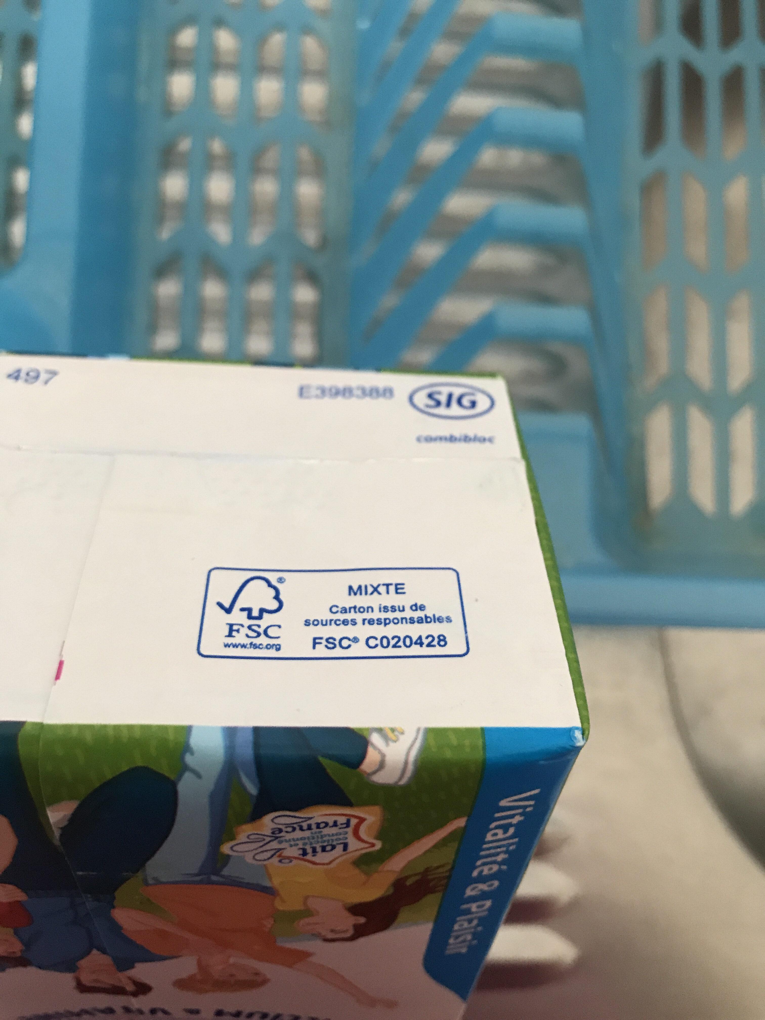 Lait Viva® - Instruction de recyclage et/ou information d'emballage - fr