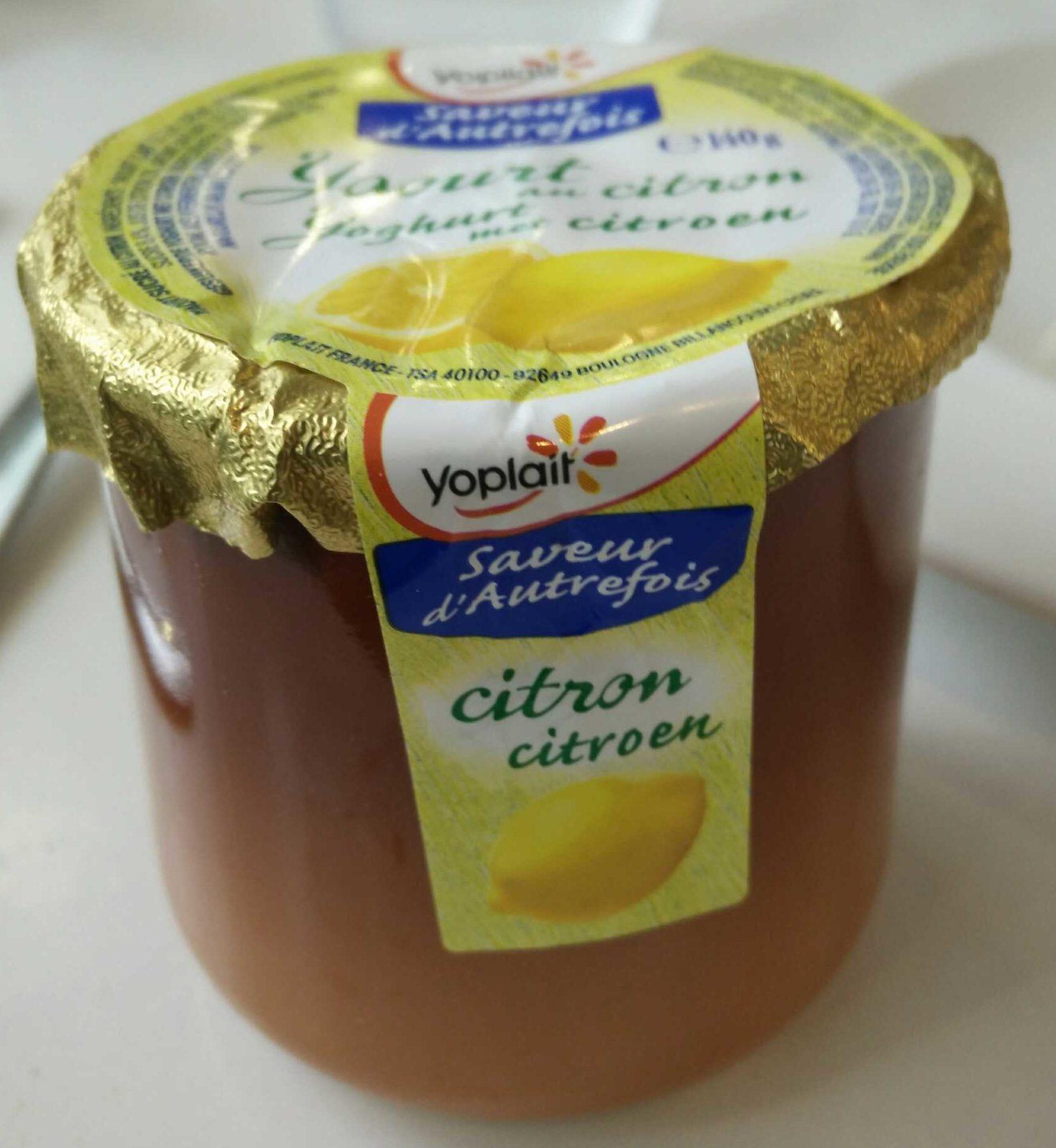 Saveurs d'Autrefois Citron - Product