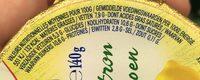Saveurs d'Autrefois Citron - Nutrition facts