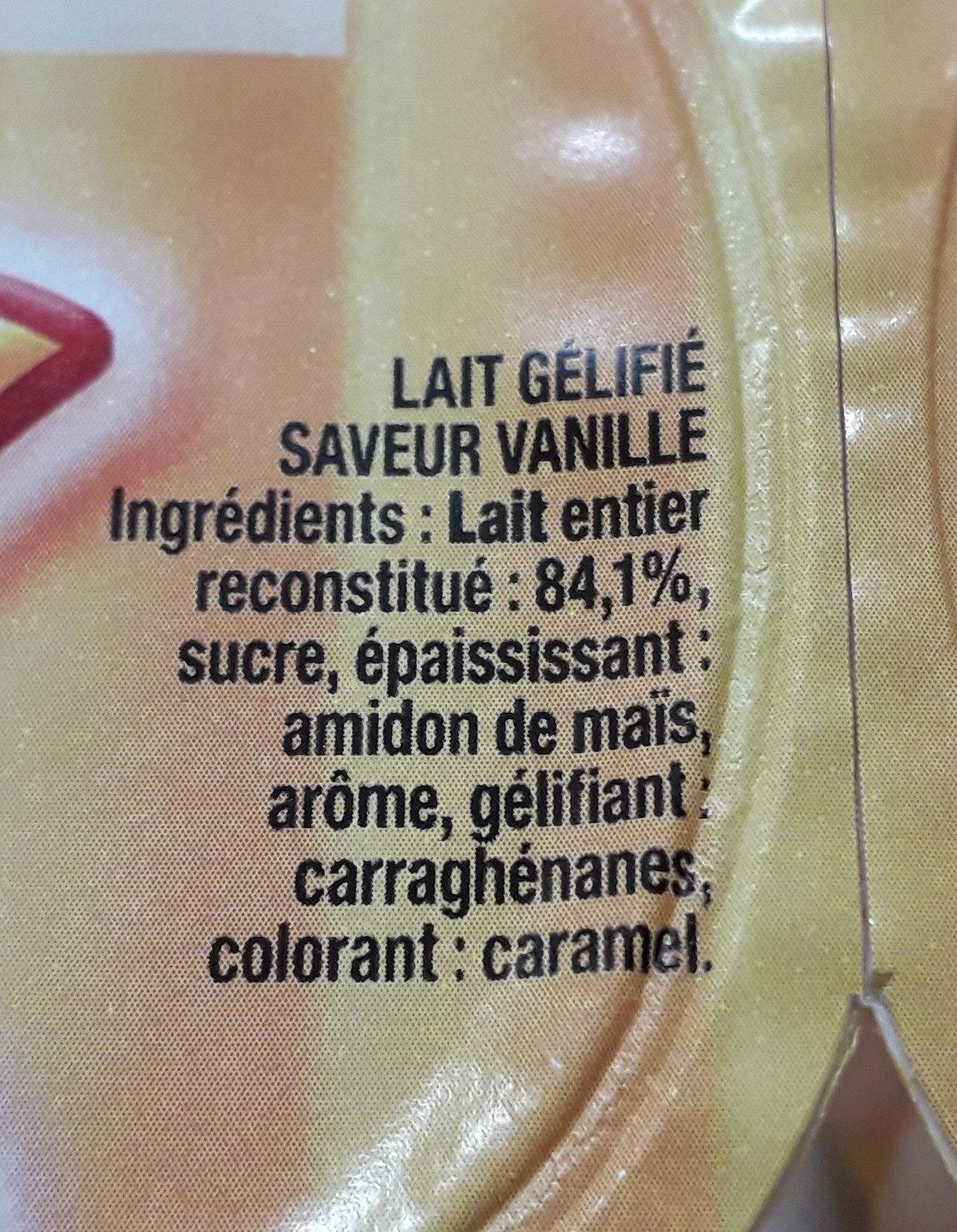 yopi vanille - Ingredienti - fr