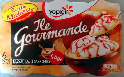 Ile Flottante Gourmande (6 Pots) - Product