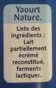 Nature - texture ferme - Ingredienti - fr