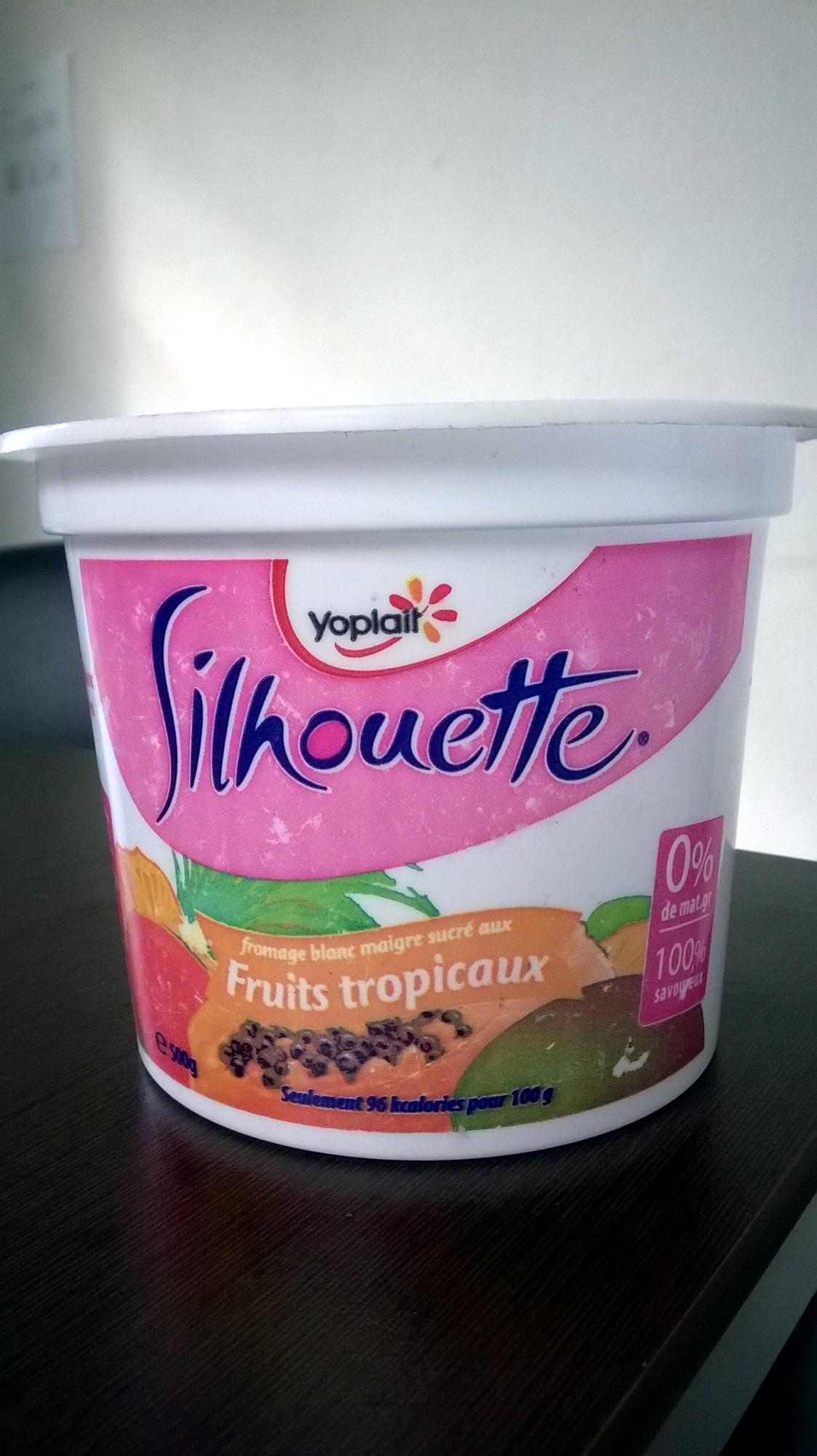 Silhouette aux fruits tropicaux 0% MG - Product