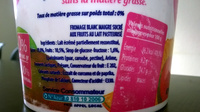Silhouette aux fruits tropicaux 0% MG - Ingredients