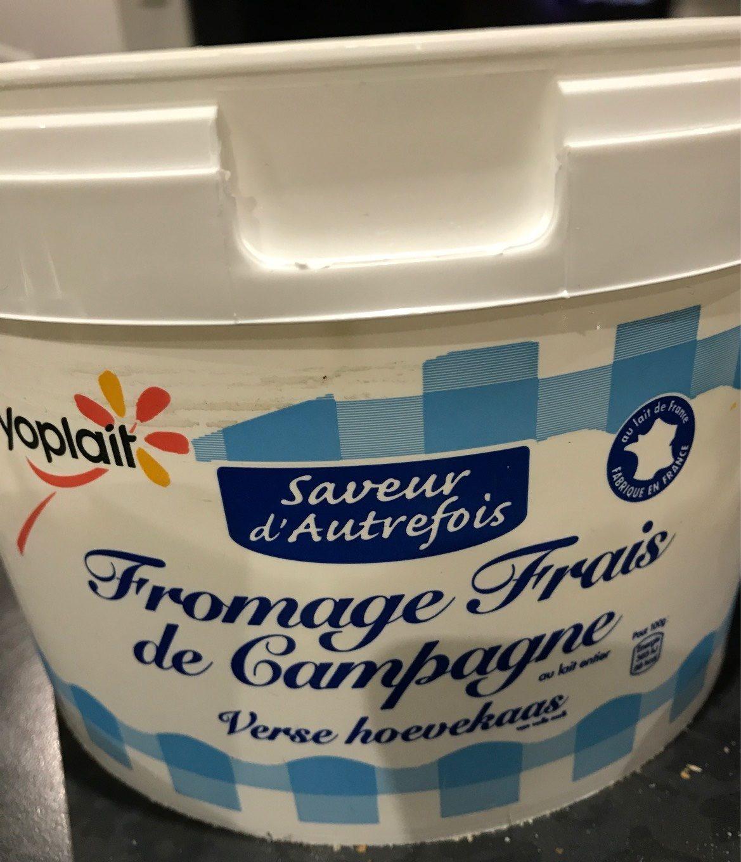 Fromage Blanc de Campagne au Lait des Alpes 6,2 % - Product