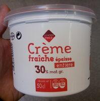 Crème fraîche épaisse entière à 30% de matière grasse - Produit - fr