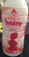 Yaourt à boire aromatisé Goût Fraise - Produit