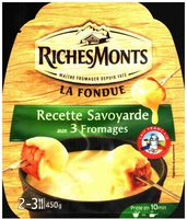 La Fondue Recette Savoyarde aux 3 Fromages - Product