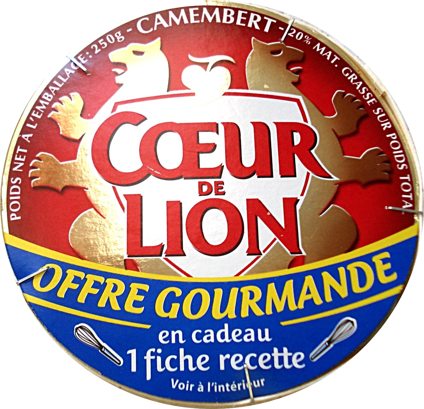 Camembert (20 % MG), Offre Gourmande - Product - fr