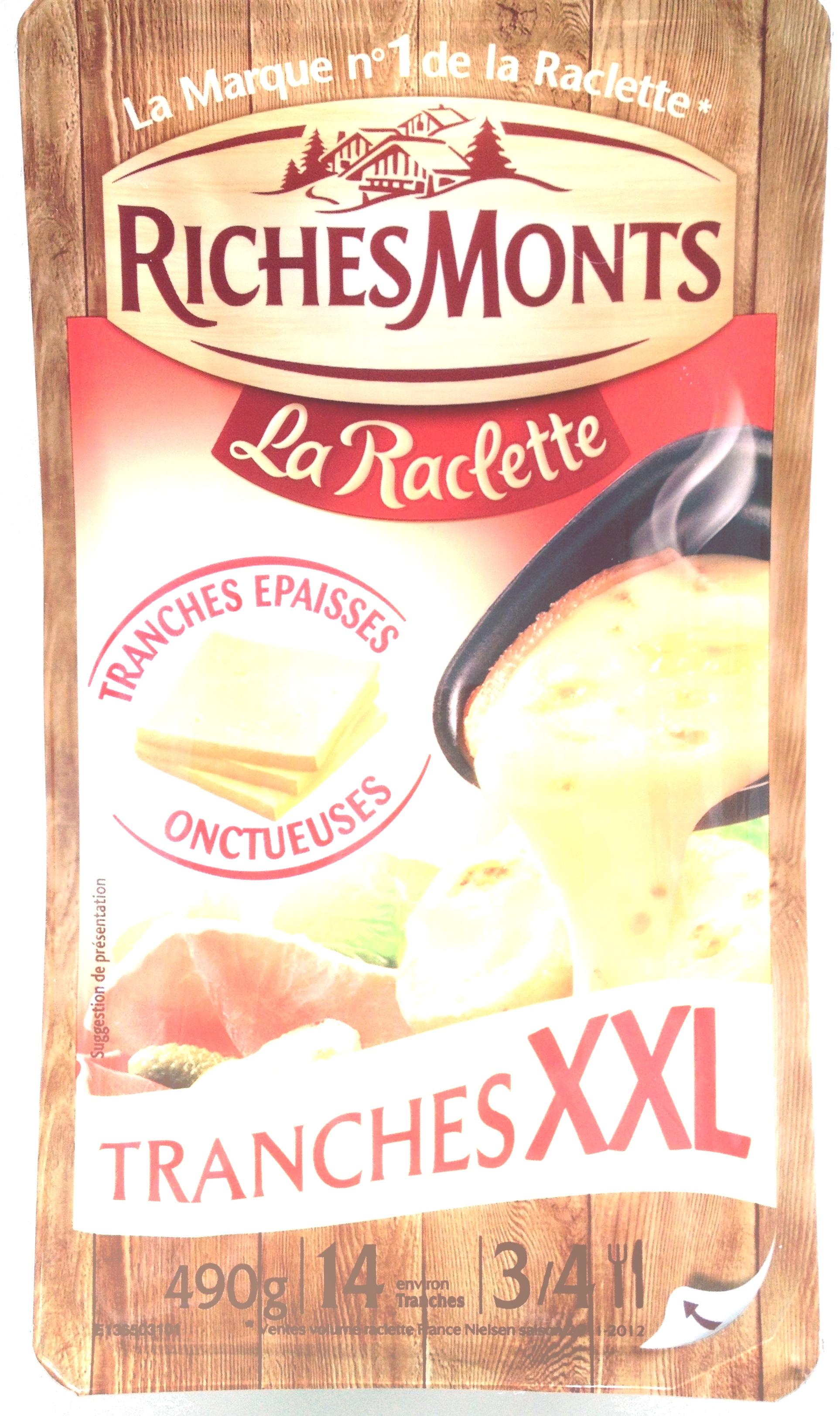 La Raclette (26% MG) Tranches XXL - Produit - fr