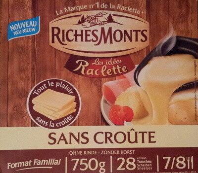 Raclette sans croûte - Produit - fr