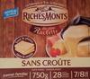 Raclette sans croûte - Produkt
