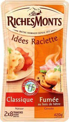 Fromage à raclette Classique & Fumée - Produit - fr