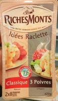 Duo raclette (3 poivres et classique) - Produit - fr