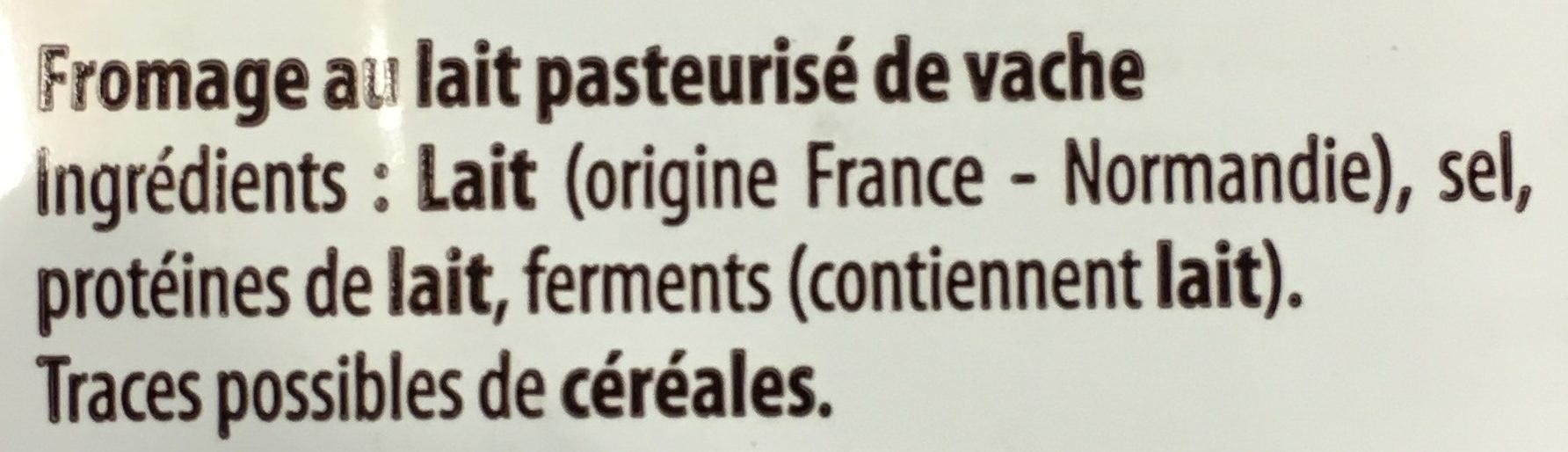 4 mini à dorer - Ingredients - fr