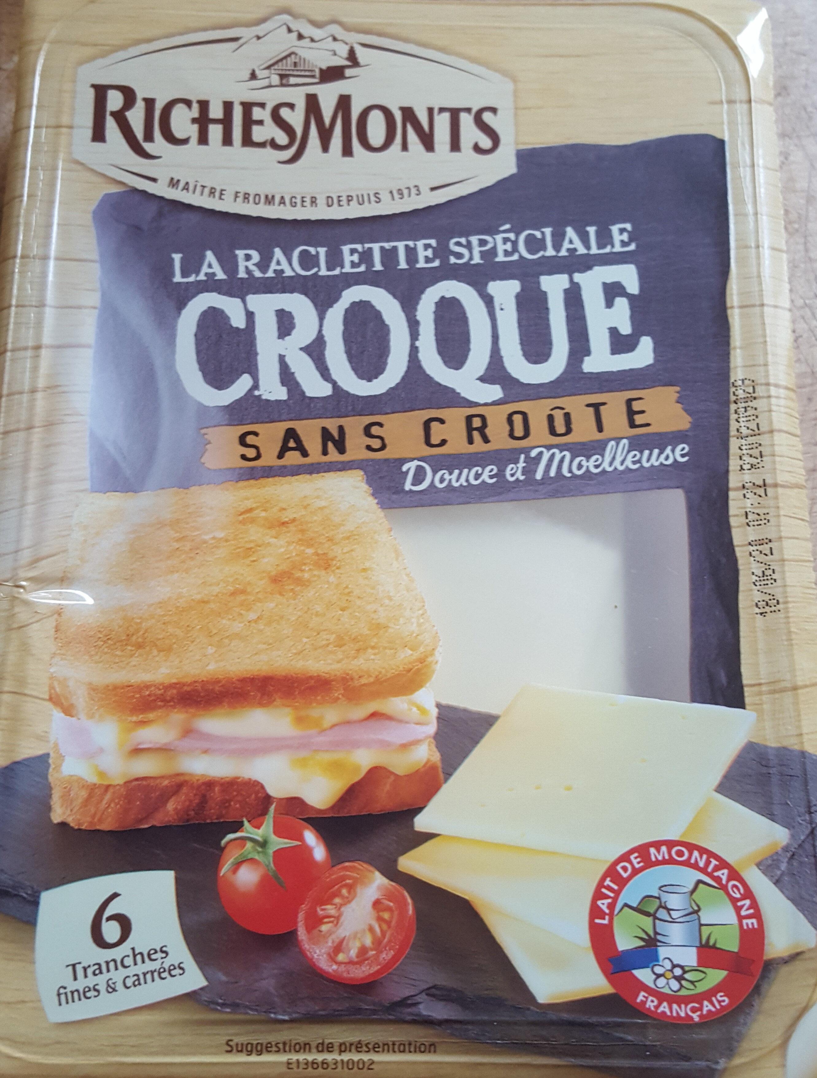 La raclette spéciale croque sans croûte - Produit - fr