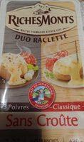 Duo raclette - Produit - fr