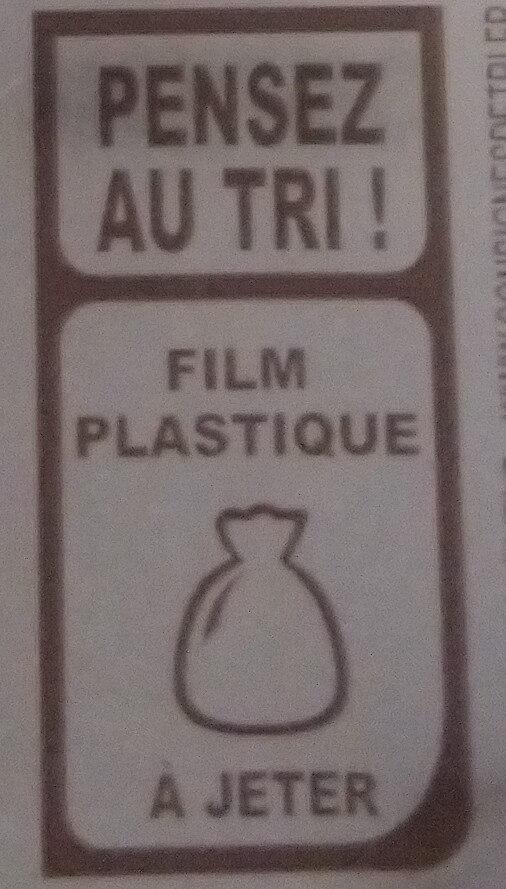 Rapé raclette emmental tomme - Instruction de recyclage et/ou informations d'emballage - fr