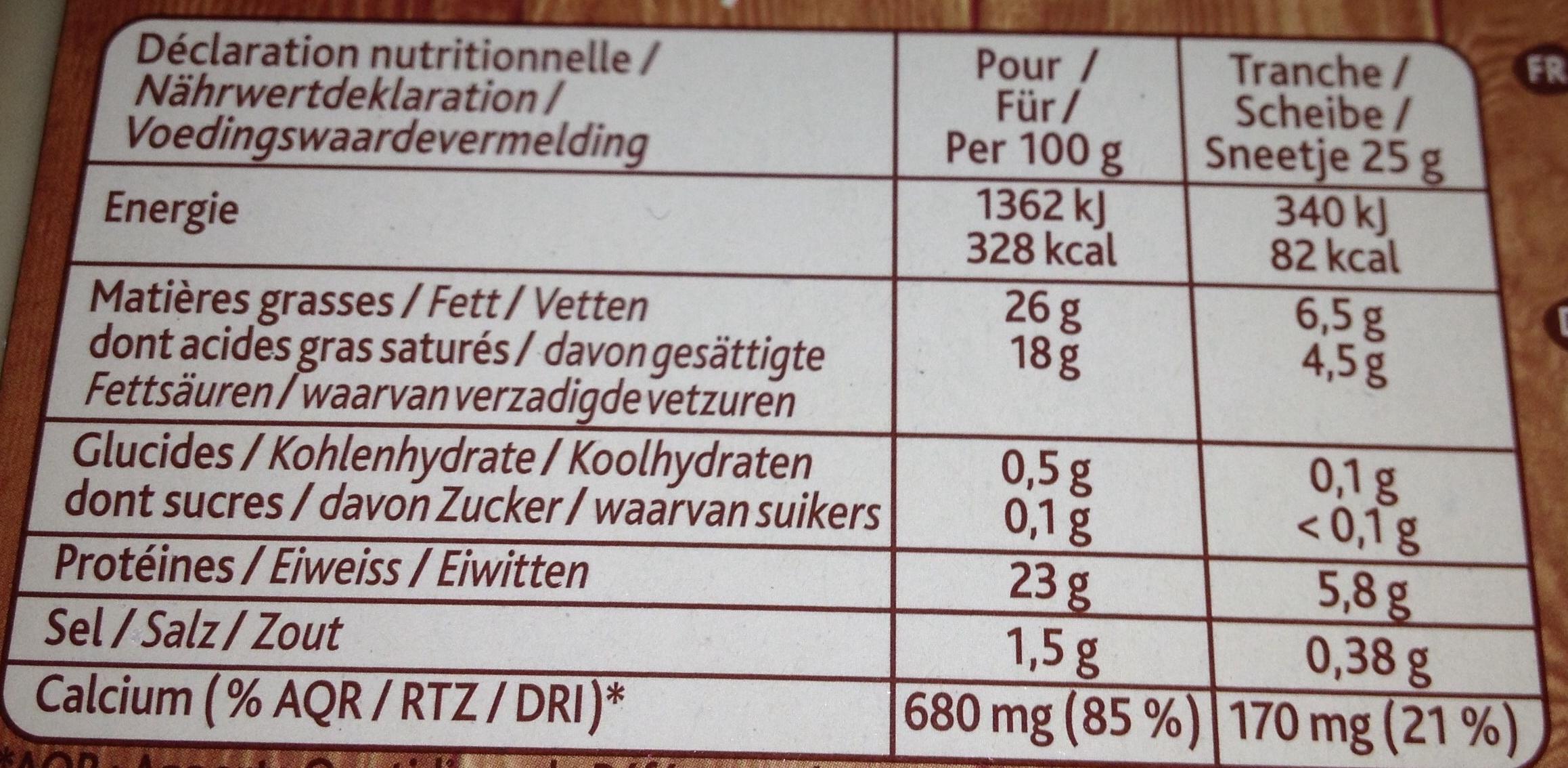 La raclette classique 26 mg format familial richesmonts 850 g 6 7 personnes environ 34 - Quantite de fromage par personne ...