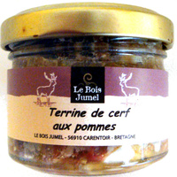 Terrine de cerf aux pommes - Product - fr