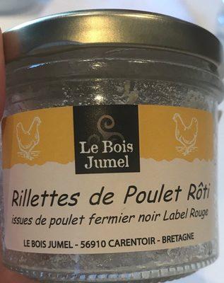 Rillettes de poulet rôti - Product - fr