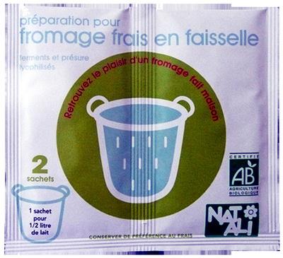 préparation pour fromage frais en faisselle - Product