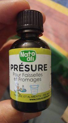 Présure Pour Faisselles Et Fromages - Produit - fr