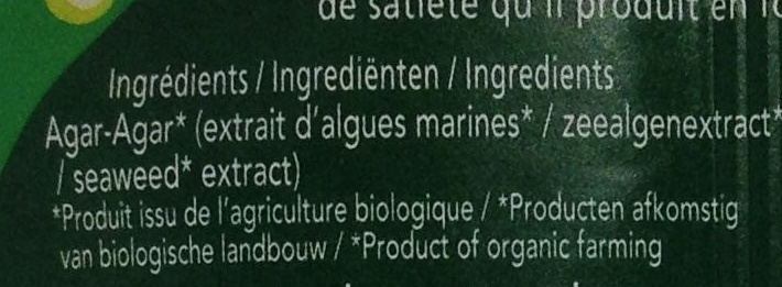 Agar-Agar - Ingrédients - fr