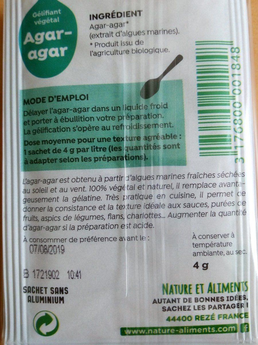 Agar Agar - Ingrédients - fr