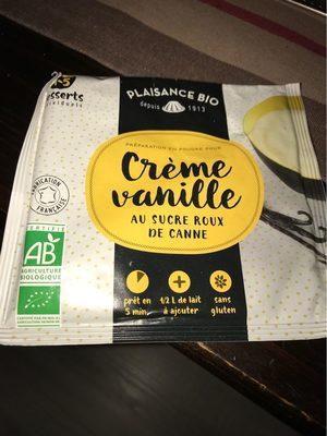 crème vanille au sucre roux de canne - Product - fr
