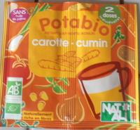 Potabio carotte cumin - Produit - fr