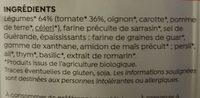 Potabio à la tomate - Ingredients - fr