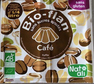 Bio-flan café sans sucres ajoutés - Produit