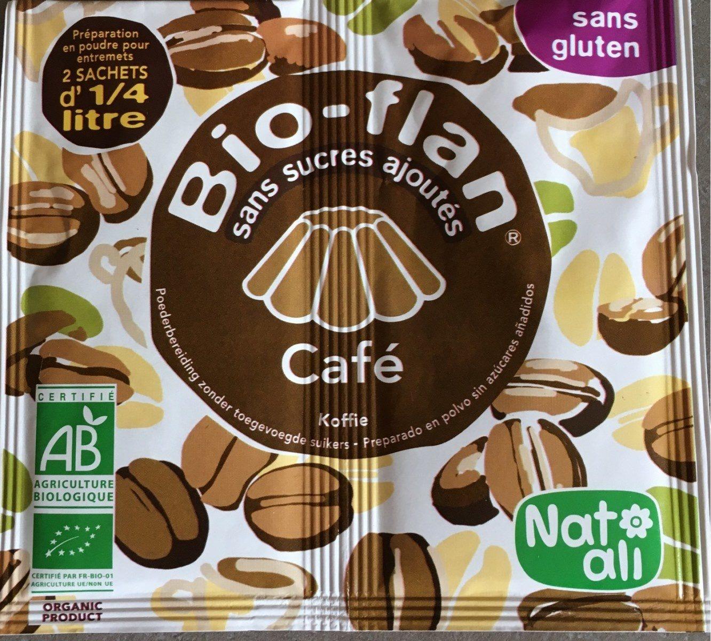 Bio-flan café sans sucres ajoutés - Produit - fr