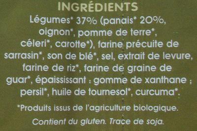 Potabio au panais - Ingrédients - fr