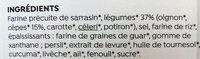 Potabio aux cèpes - Ingrédients - fr