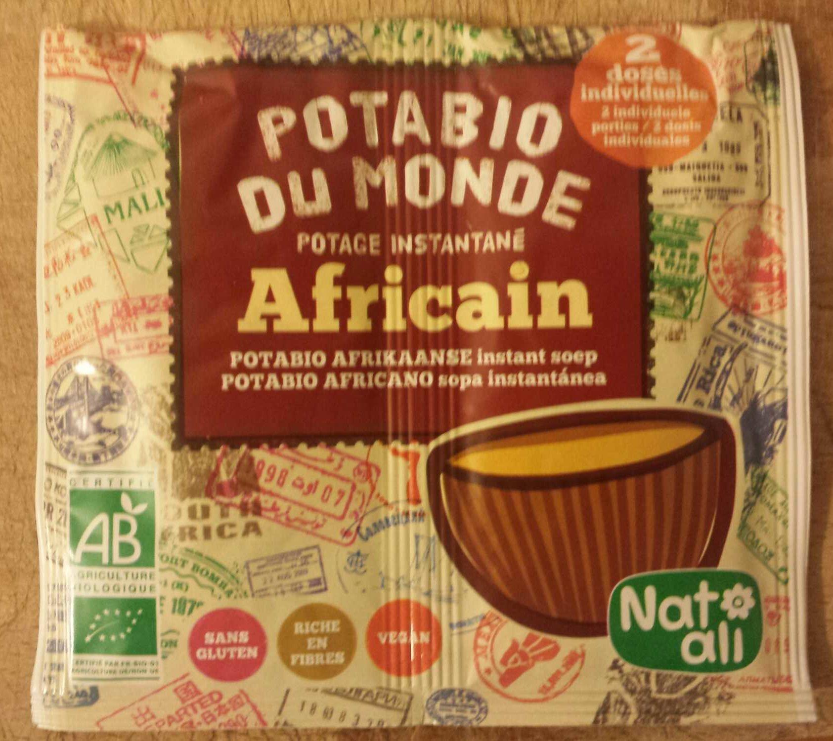 Potabio Africain - Produit - fr