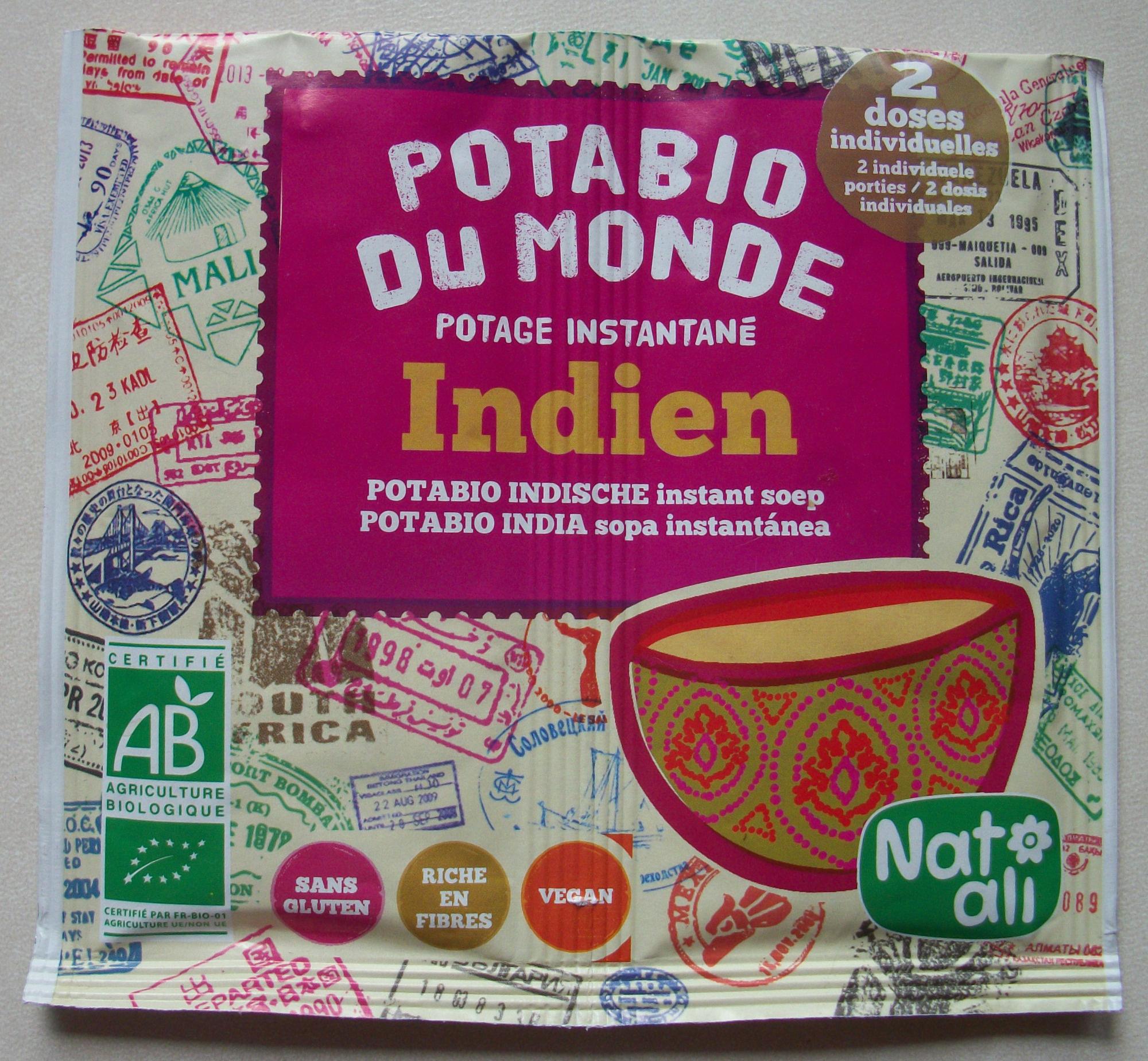 Potabio du monde - Indien - Produit - fr