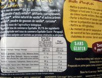 Creme Brulée - Nutrition facts - fr