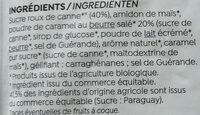 Crème dessert caramel au beurre salé - Ingrédients - fr