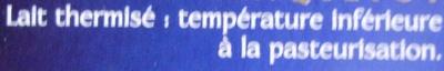 Camembert, Moulé à la Louche (22 % MG) - Ingrédients - fr