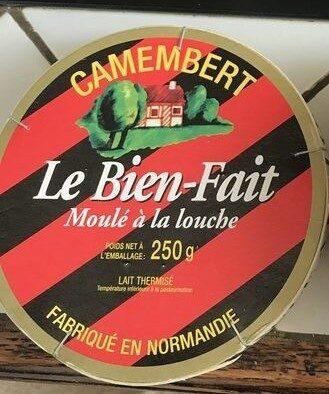 Camembert Le Bien-Fait Moulé à la louche(22% MG) - Produit - fr