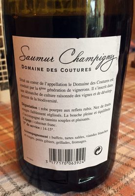 Saumur Champigny - Product