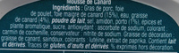 Mousse de Canard - Ingrediënten