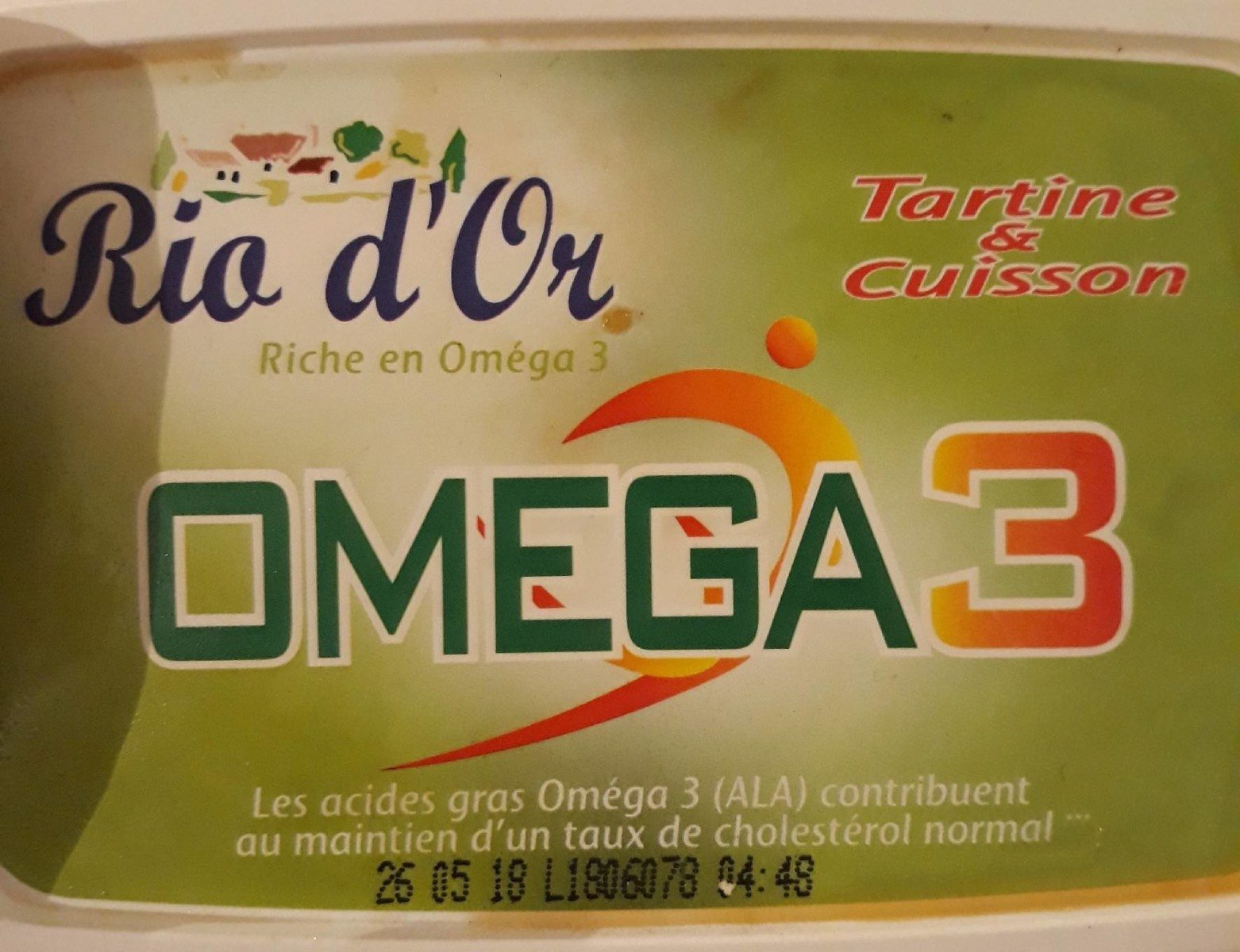 Omega 3 Tartine & Cuisson - Product