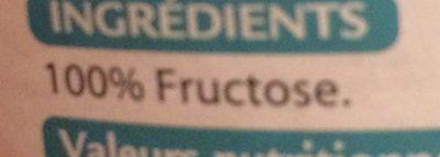 Vivis fructose - Fructose cristallisé - Ingrédients - fr