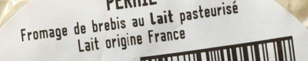 Perail - Ingrédients - fr