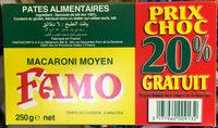 Macaroni moyen (20% gratuit) - Produit - fr