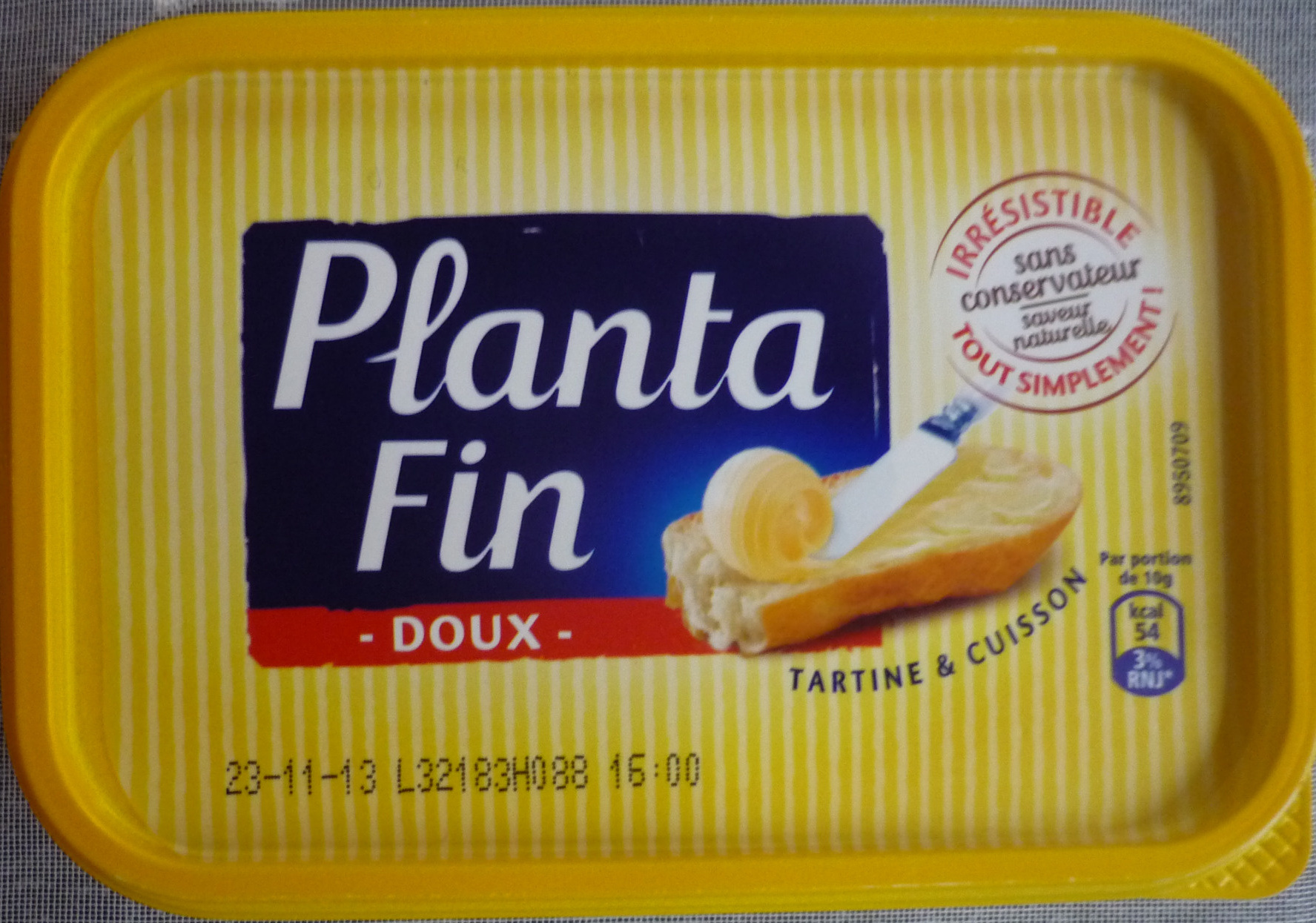 Planta Fin Doux Tartine & cuisson (60 % MG) - Product - fr